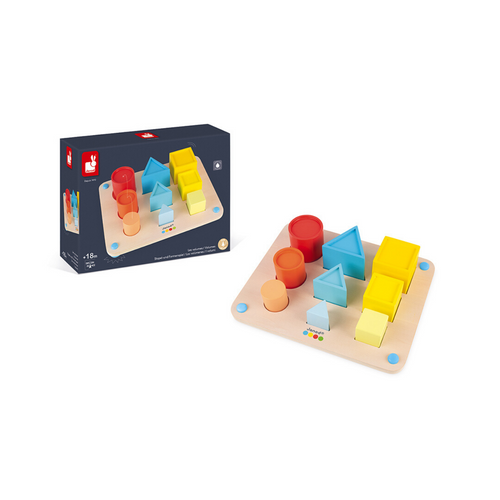 Shape Volumes Early Learning Toy