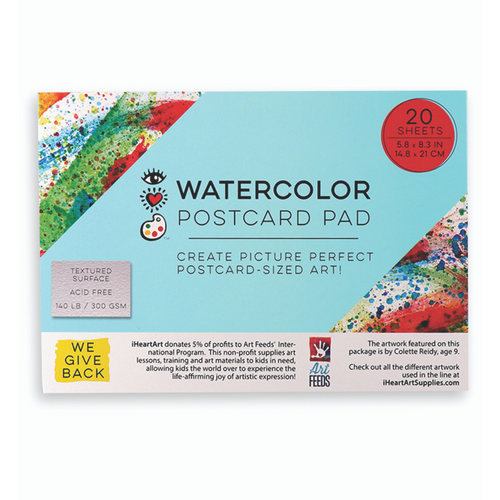 Watercolor Postcard Pad