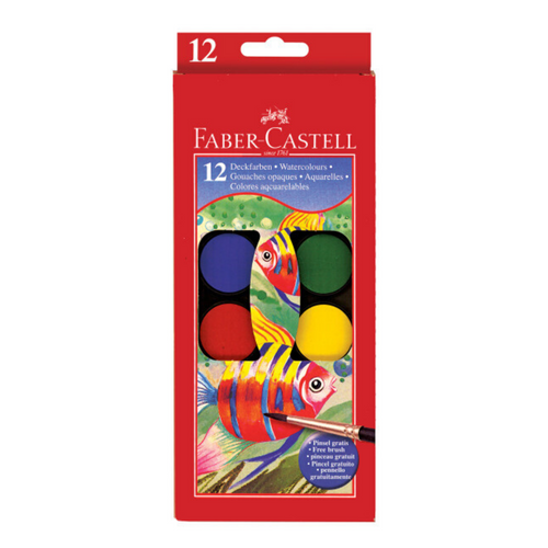 Watercolor Paint Set 12 Colors