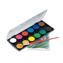 Load image into Gallery viewer, Watercolor Paint Set 12 Colors