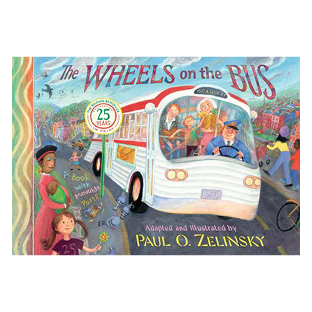 Wheels on the Bus by Paul Zelinsky - book cover