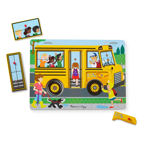 Wheels on the Bus Sound Puzzle