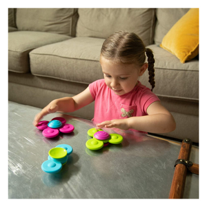 Child playing with Whirlysquigz