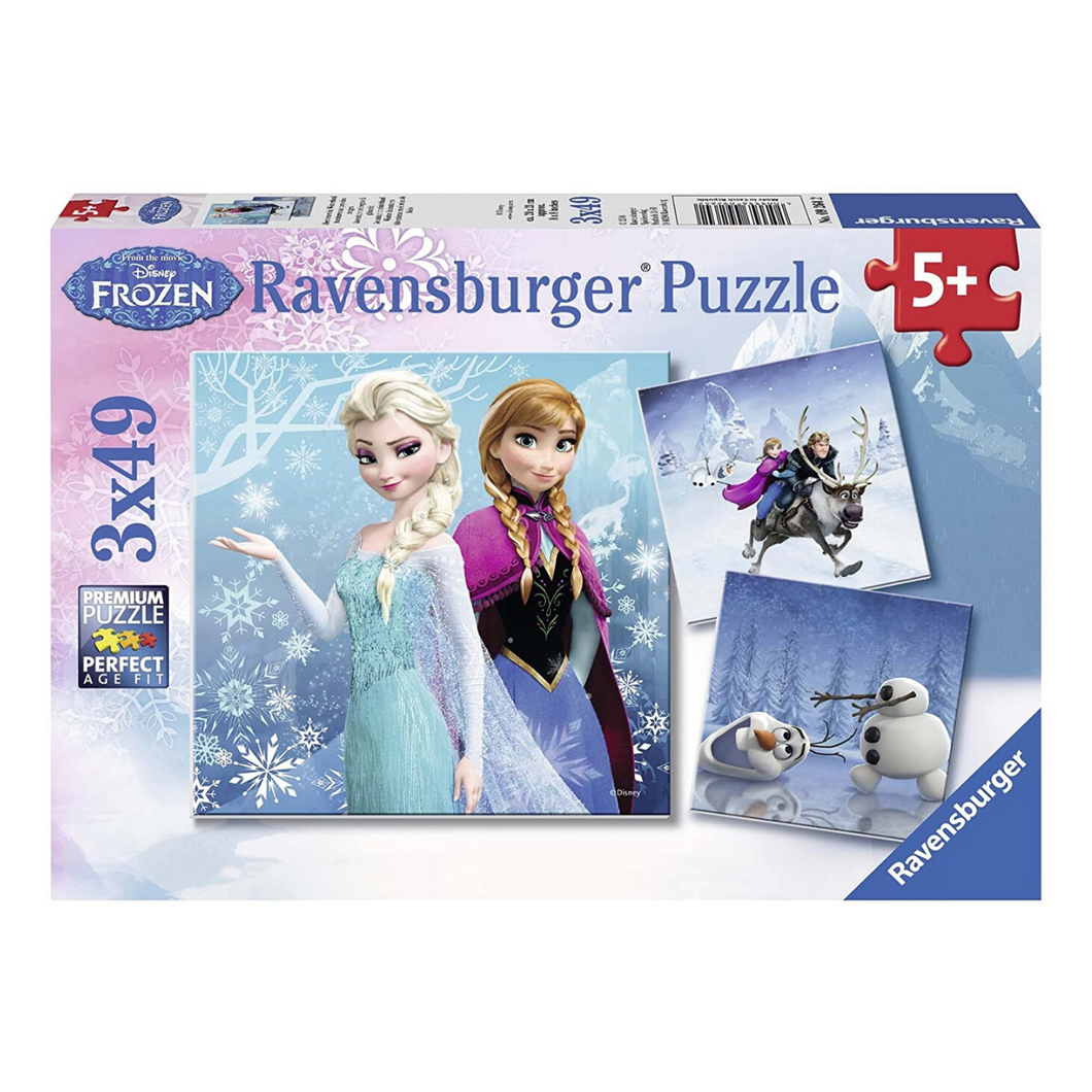 Frozen: Winter Adventures 49-Piece Puzzle