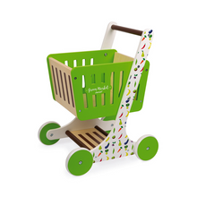 Load image into Gallery viewer, Wooden Shopping Cart