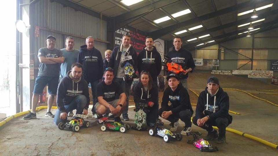 Herts RC Models has its own race team who go around the country competing in the 1/8th Buggy and Truggy classes.
