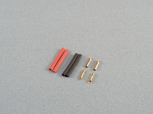 Gold Connectors 2mm Set - 2 pairs