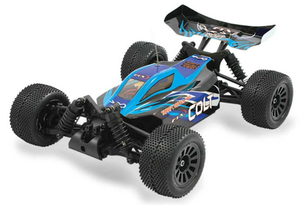 Colt RTR 1/18th Scale 4wd Electric Off-Road Buggy - Blue/Black