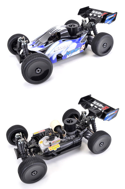 NRB-5 1/8th Buggy RTR - Blue