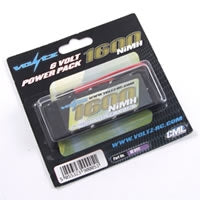 1600MaH 6.0V NimHReceiver Stick Battery with JR Plug
