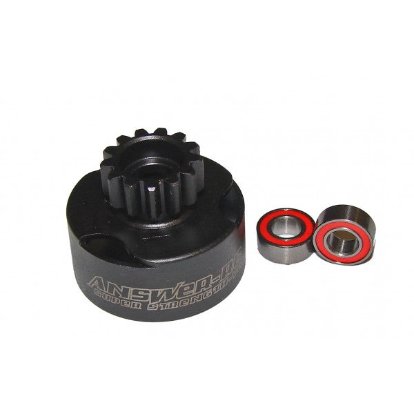 15T Vented Clutch Bell With 5 x 12 Bearings