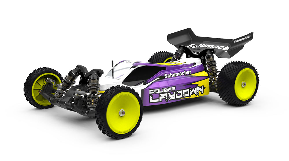 Cougar Laydown 1/10th Competiton 2wd Buggy Kit