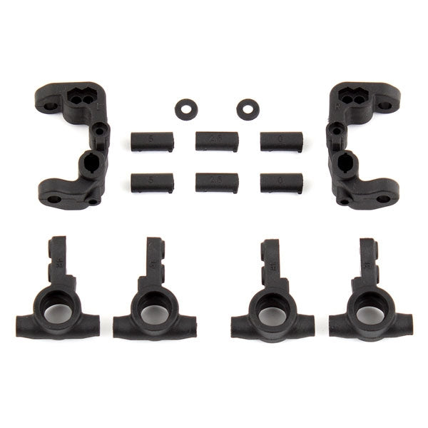 RC10B6.1 / RC10B6.2 Caster and Steering Blocks