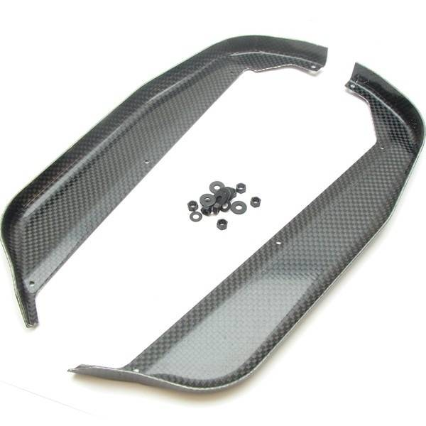 MP10 Carbon Chassis Guards
