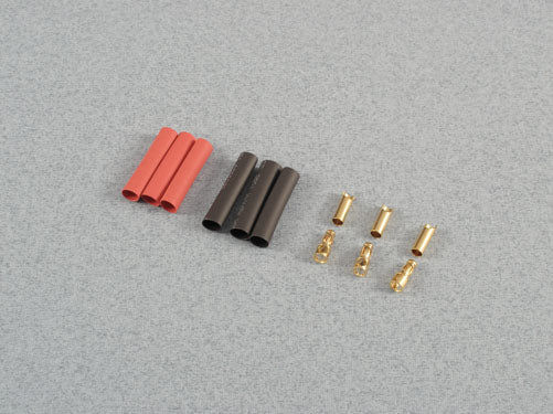 Gold Connector 3.5mm Set - 3 Pairs