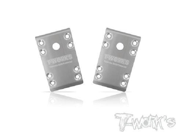 RC10B74 Front Skid Plate 2pcs