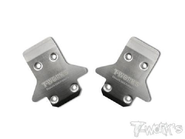 MP9 / MP10 Front Skid Plate 2pcs