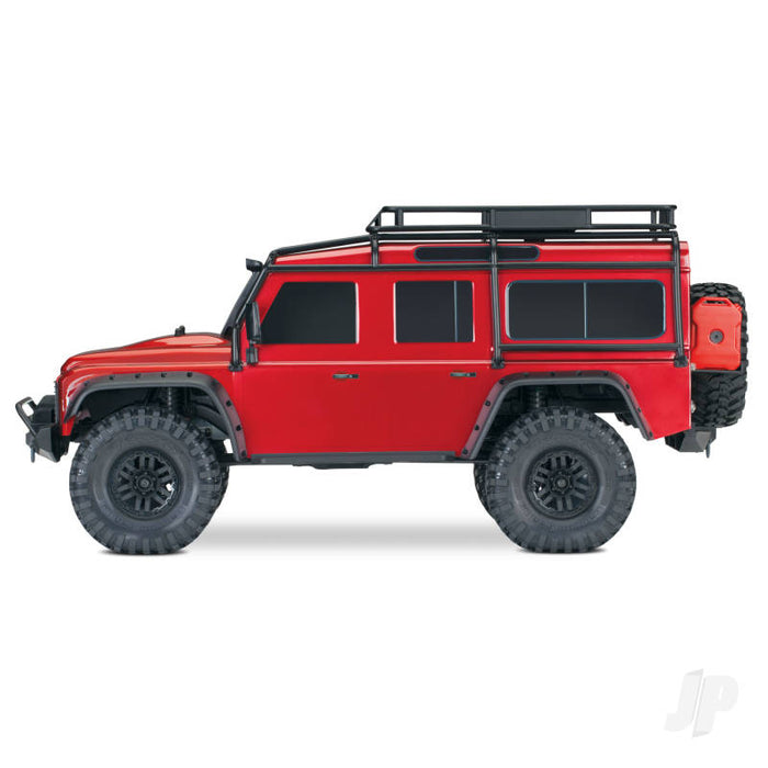 TRX-4 Land Rover Defender 1/10th 4WD Electric Trail Crawler - Red