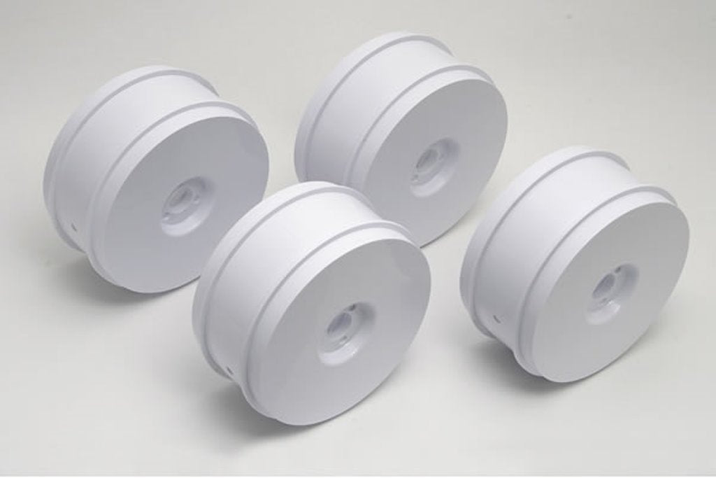 1/8th Buggy Wheels White - Set of 4