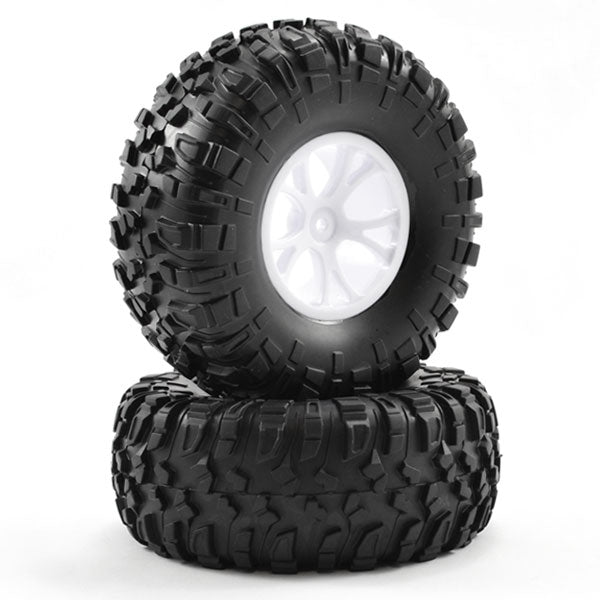 Outlaw  Pre-Mounted Wheels & Tyres - White