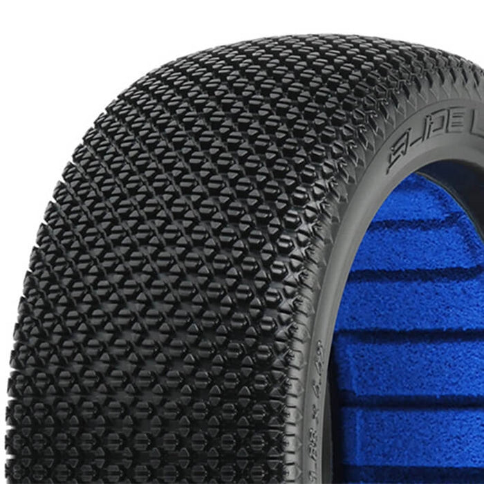 Slidel Lock X3 Soft 1/8th Off Road Buggy Tyres & Inserts - 1pr