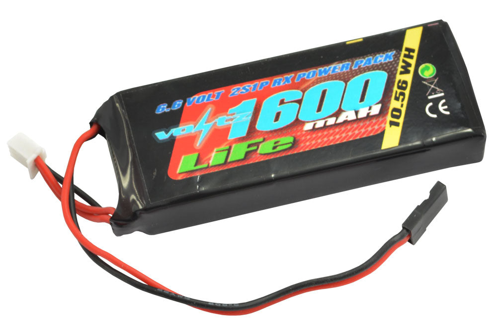 1600mah 2s Life Battery - Straight
