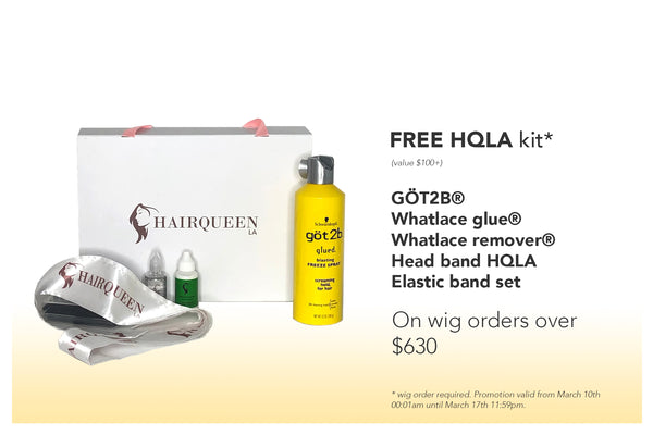 Lucky you. Unlock a free Hair Queen LA kit to celebrate St. Patrick's Day