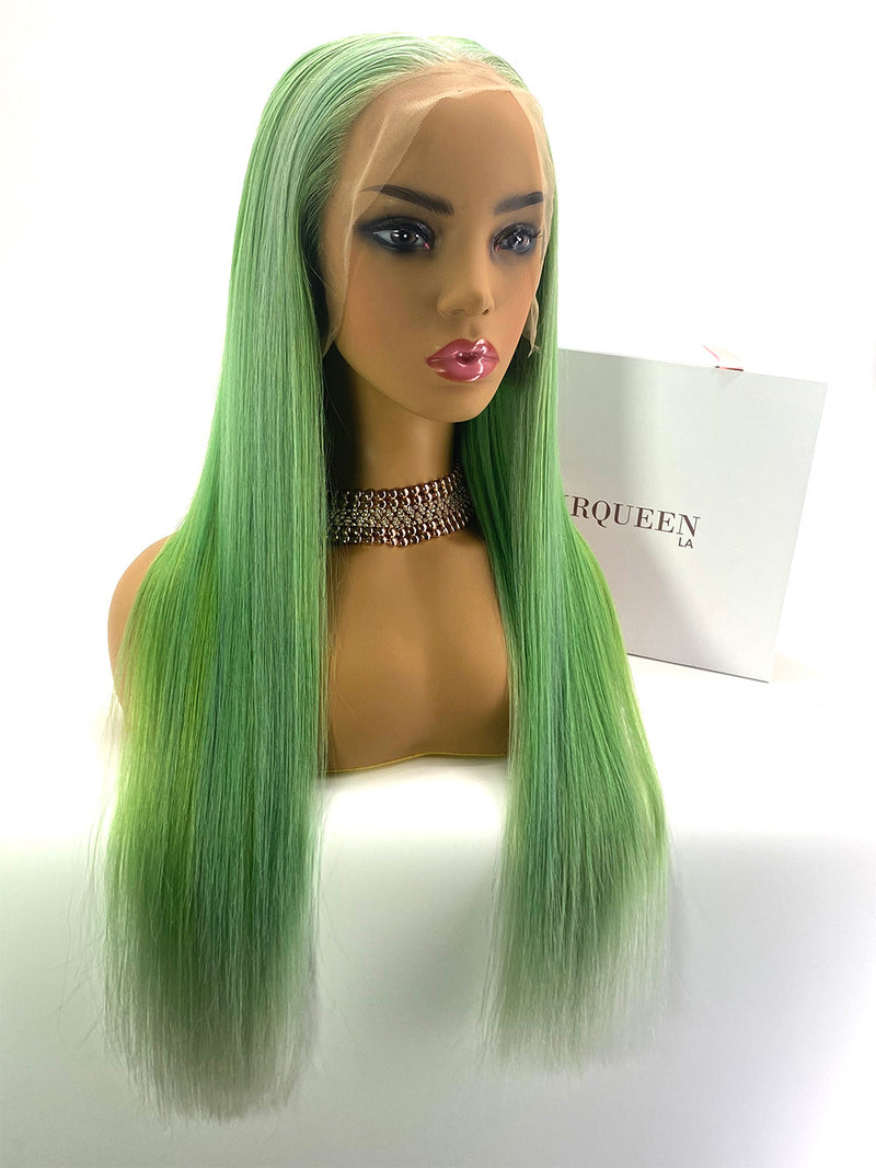 Lime Lace wig