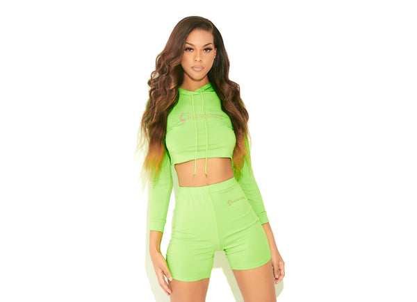 Lime Green HQLA Active Wear