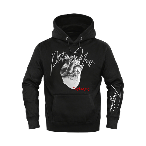 PLATINUM HEART BLACK HOODIE + DELUXE DIGITAL ALBUM