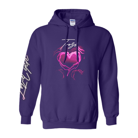 LOVE CYCLE PURPLE HOODIE + DIGITAL ALBUM