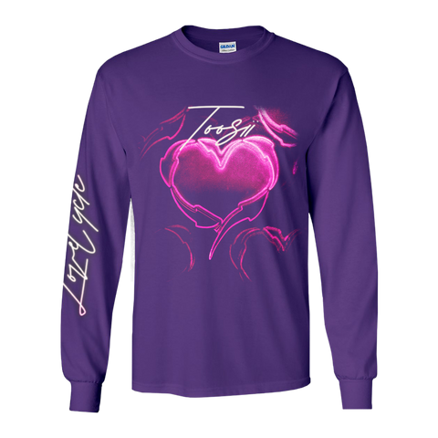 LOVE CYCLE PURPLE LONGSLEEVE + DIGITAL ALBUM