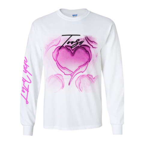 LOVE CYCLE WHITE LONGSLEEVE + DIGITAL ALBUM