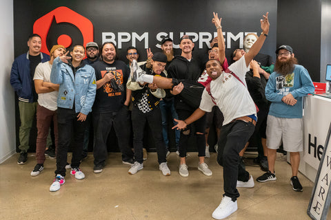 Jay Blaze and Zaku Visit BPM Supreme in San Diego