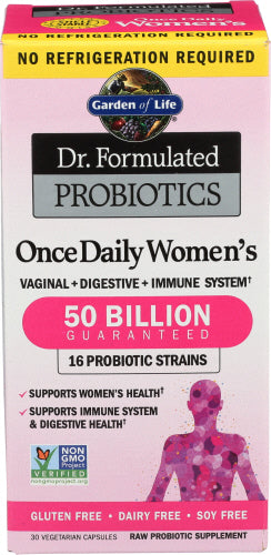 GOL Dr. Formulated Once Daily Women's Probiotic 50 Billion 30 caps