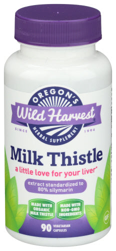 Oregon Wild Harvest Milk Thistle 90 caps