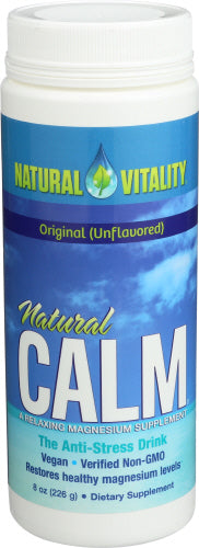 Natural Vitality Calm (Unflavored) 8 oz
