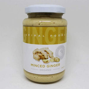 Ginger - minced - 210g jar