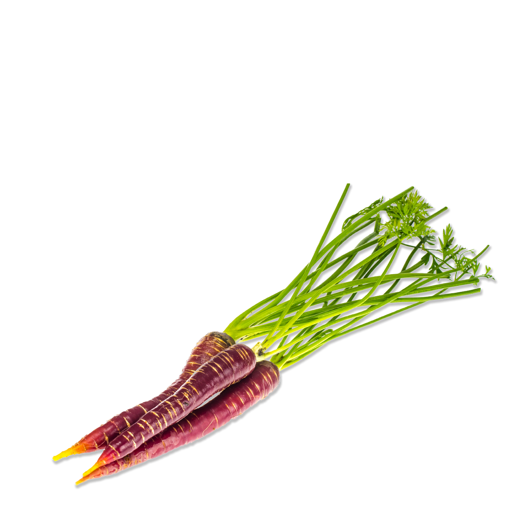 Organic Carrots purple