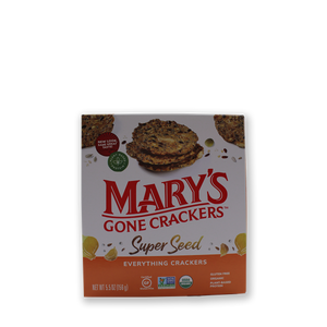 Crackers- Mary's - Super Seed Everything