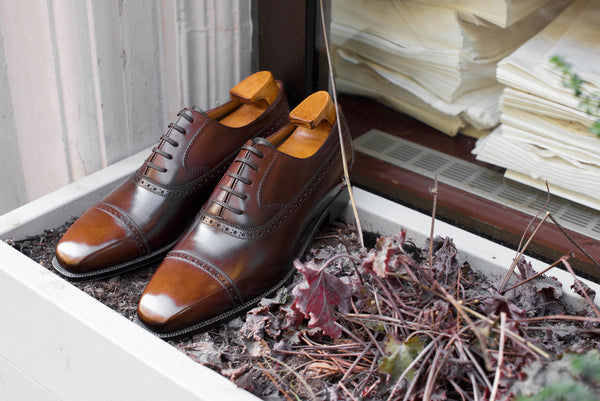 Enzo Bonafe x Dandy Shoe Care