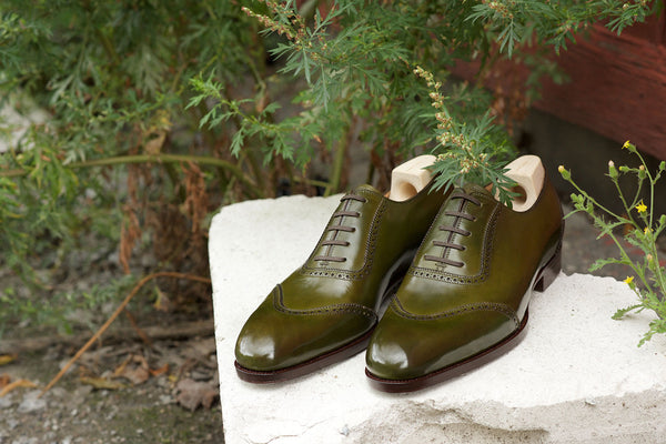 Saint Crispin's Forest Green Oxford