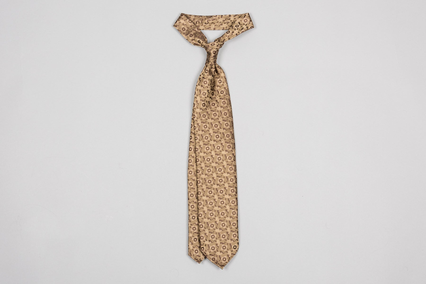 Tie Your Tie - Golden Paisley