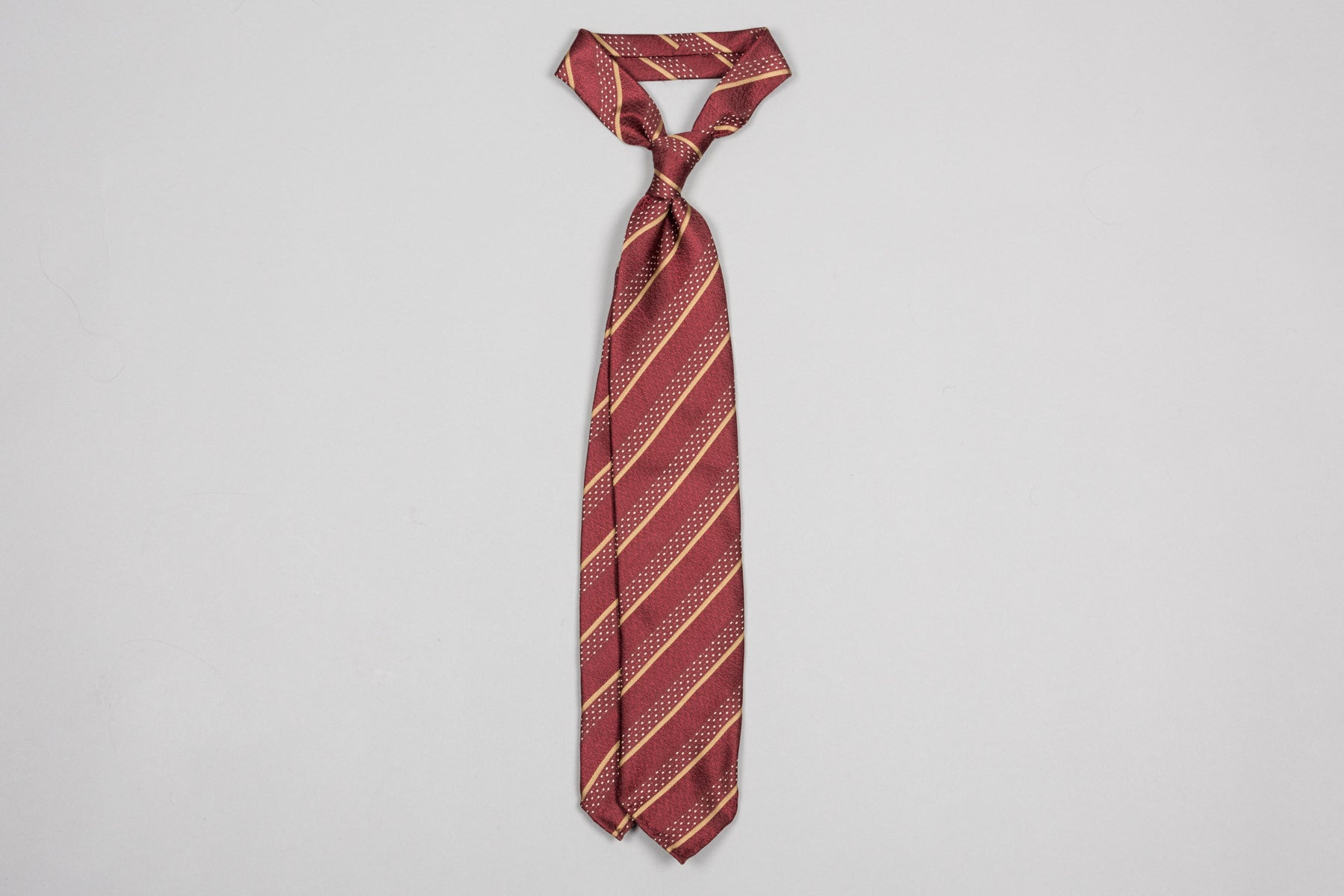Tie Your Tie - Burgundy Bliss