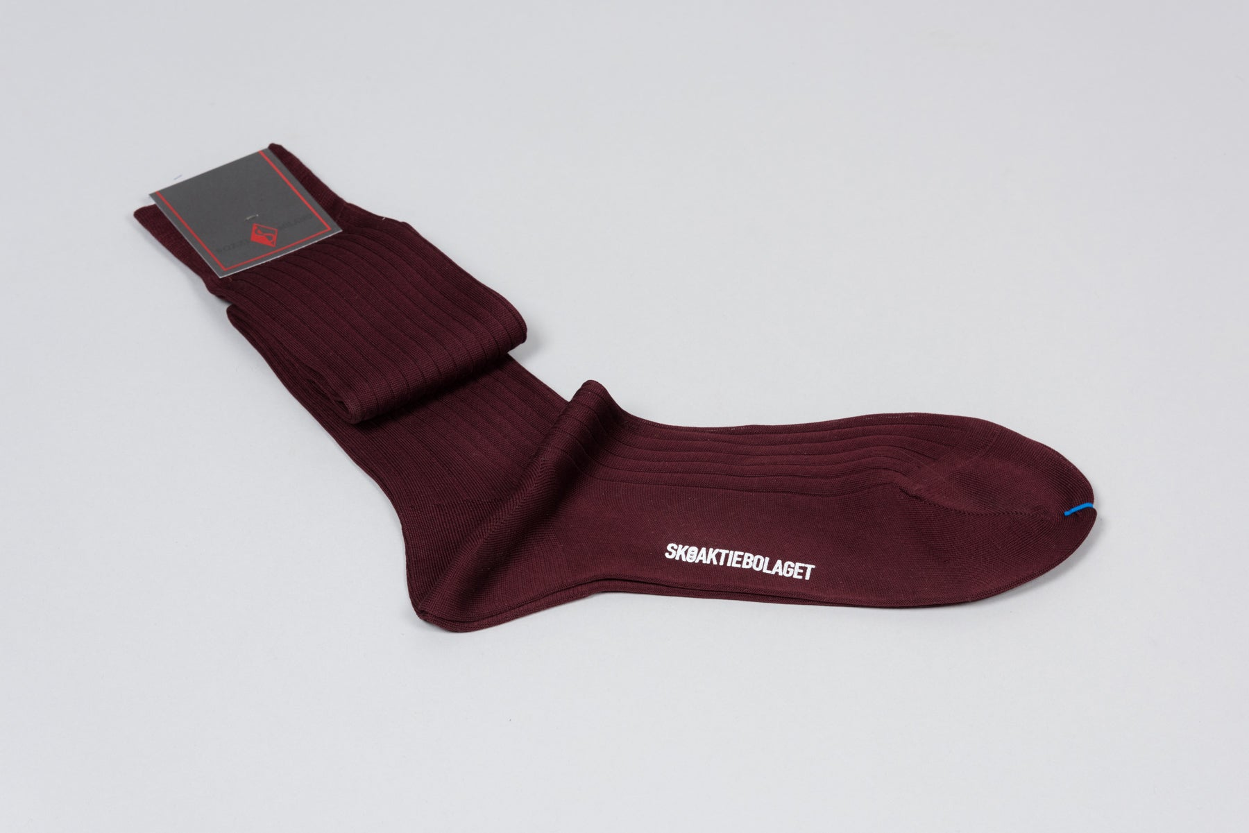 Sozzi  Cotton Socks - Burgundy