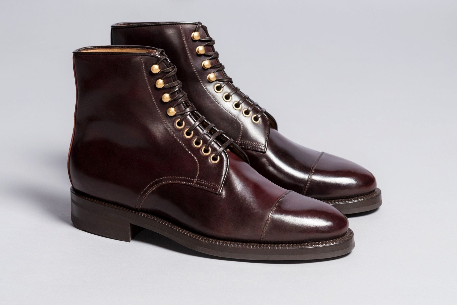 dec2c41cd0f Enzo Bonafè Jumper Boot Color 8 Cordovan