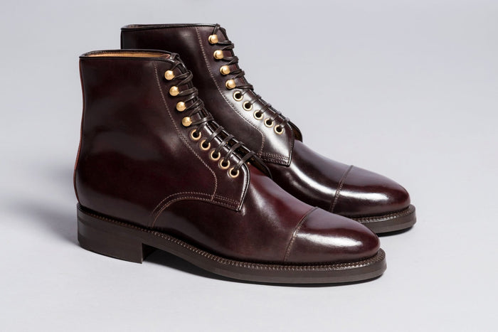 Enzo Bonafé Jumper Boot Color 8 Cordovan