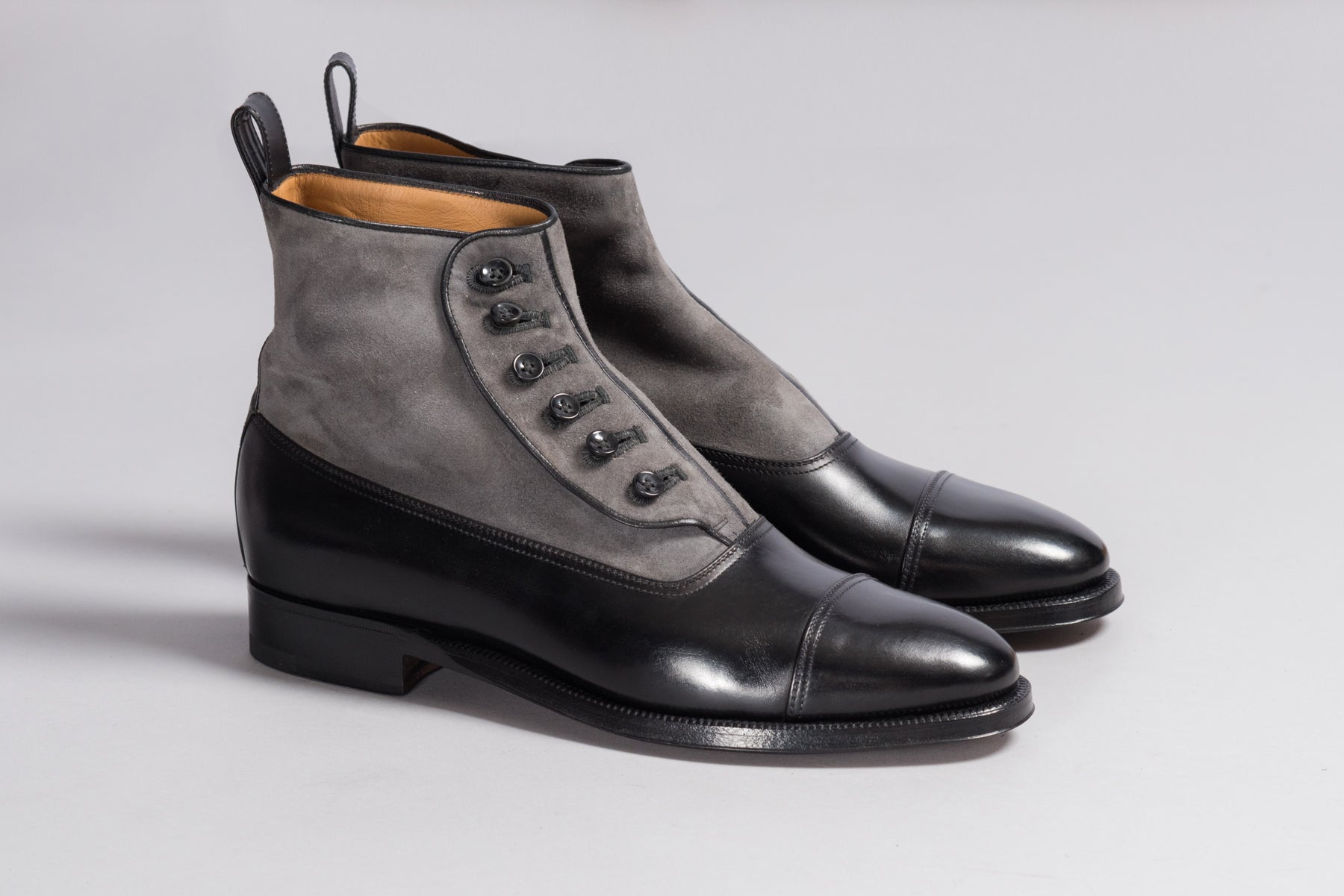 Enzo Bonafé Button Boots