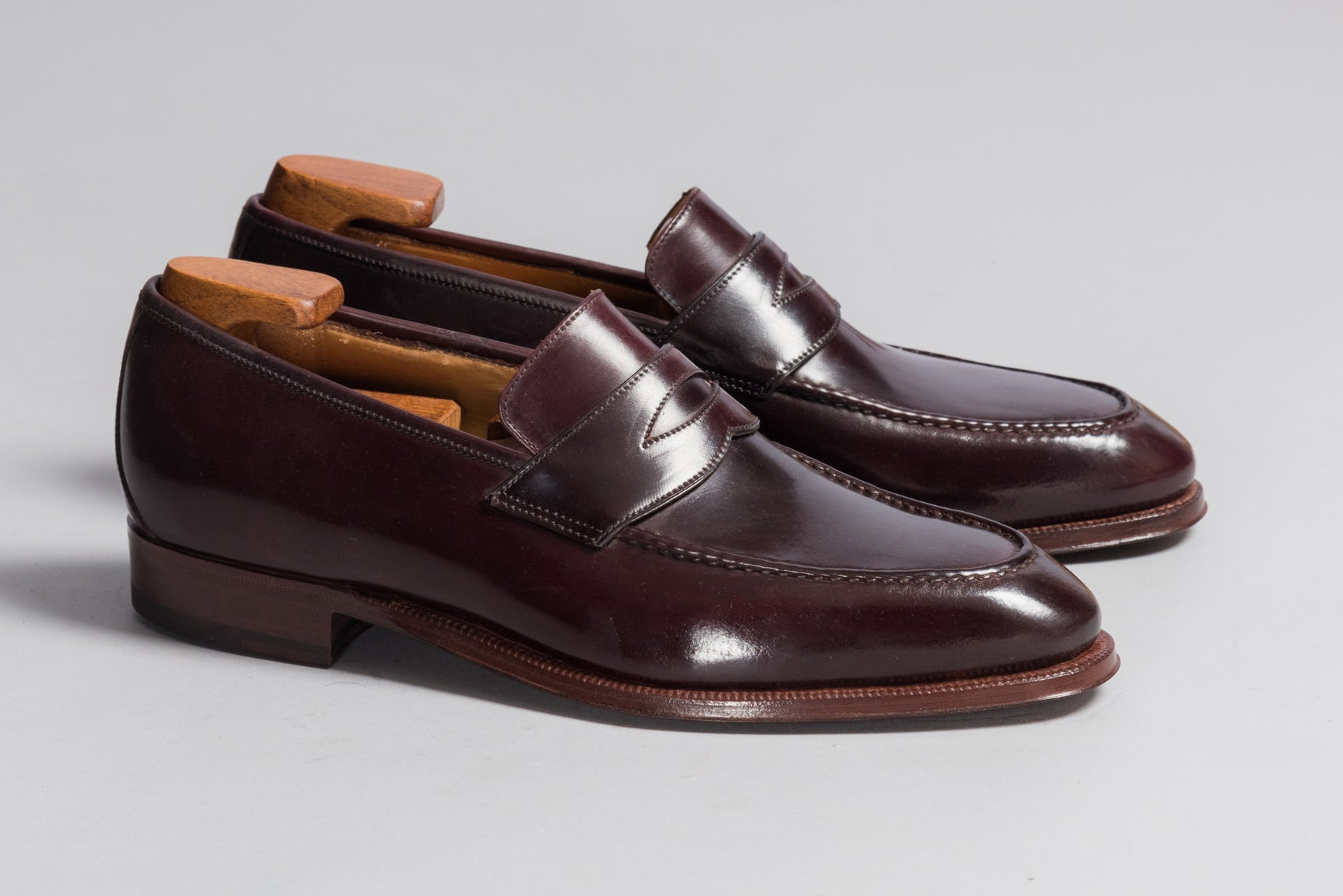 Enzo Bonafè Penny Loafer Color 8 Cordovan