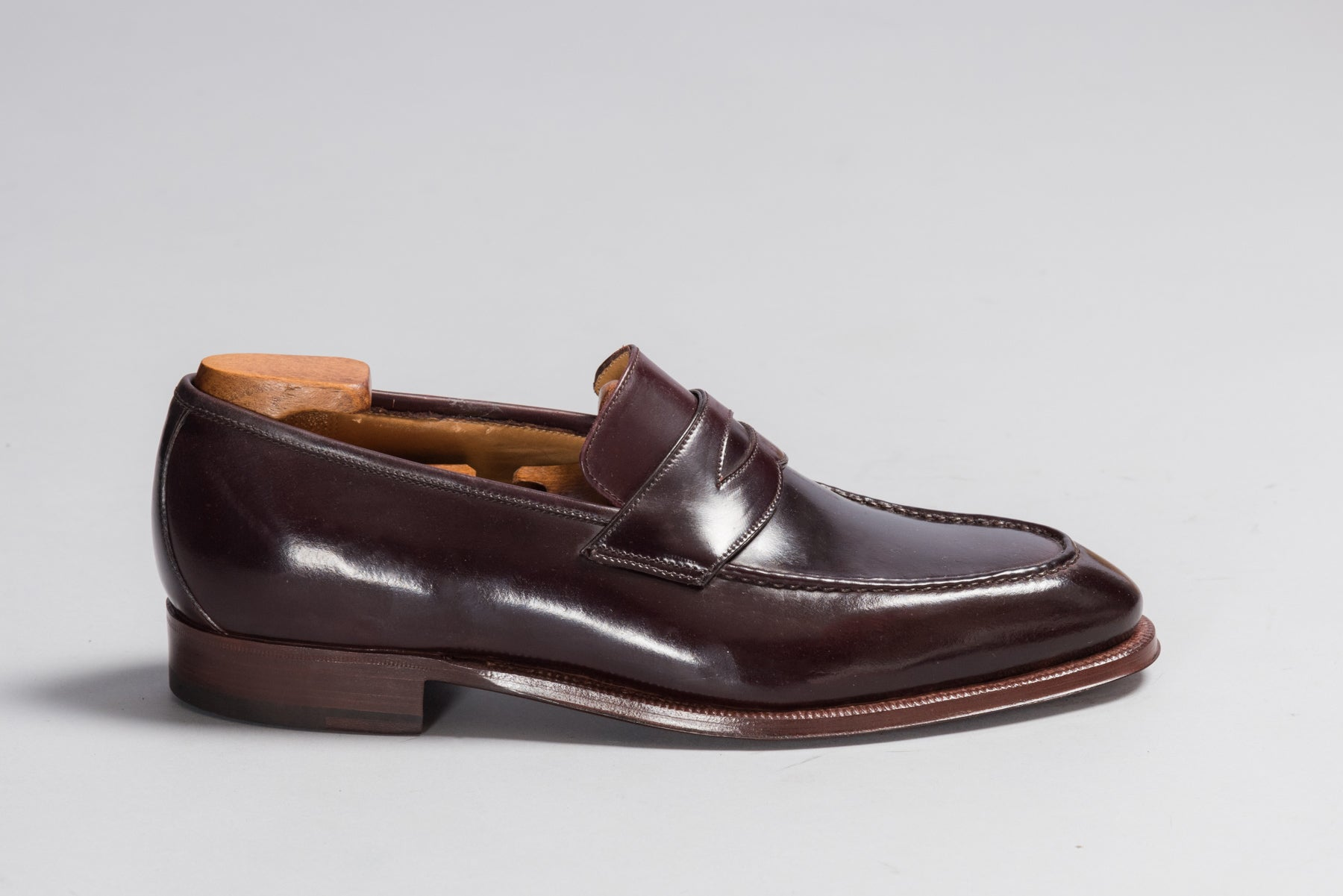 Enzo Bonafè Color 8 Cordovan Loafer
